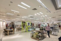 Marks & Spencer Has Replaced T5 Ribbon Wall Lighting with LEDs in 170 UK Stores