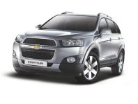 Upgraded Chevrolet Captiva SUV Is Unveiled by GM in India