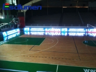 Basketball Stadium in Beirut Cooperation Becomes More Attractive with Eastar's LED Display