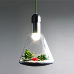 The Planting Light Was Designed to Connect The Indoors with The Outdoors