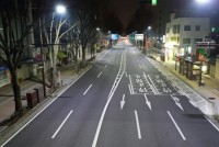 LED Street Lighting Project Completed and Lit up Officially in Gunma Prefecture, Japan