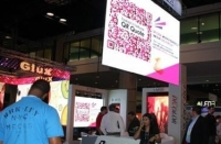 Buyers May Scan The Qr Code on LED Display At InfoComm 2013