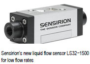 Sensirion AG Is Expanding Its Range of Liquid Flow Sensors for Measuring Low Flow Rates.