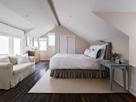 Contemporary Bedroom Design by San Francisco General Contractor Moroso