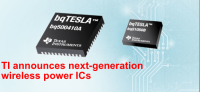 Texas Instruments Unveiled Its First Single-Stage Wireless Charging IC
