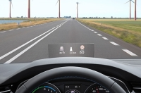 Volkswagen Arms Midsize Sedan Passat with a Head-up Display