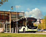Three All-Electric Buses Started Plying on Route 55 in Sweden