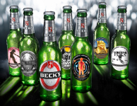 Beck's Beer Has Unveiled The Six Original Pieces of Artwork