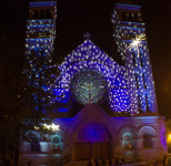 Chicago's Church Lit up with LED Lightings