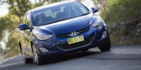 Hyundai Elantra Appears Just Like Any Other Cookie-Cutter Sedan Doing The Suburban Rounds