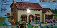 First LEGO Simpsons Set Depicts a 2523 Piece Set Featuring Six Mini-Figures