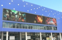 Unilumin Installed P16 Ufix Series LED Media Display with 150 Square Meters