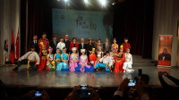 Chinese Art Troupe Presents Gala Performance in Albania