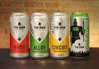 Tin Man Brewing Launched Four of Its Core Beers in Cans