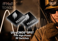 Peregrine Semiconductor Introduced Two New SP5T RF Switches