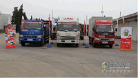 JAC Light Trucks, Shuailing, Junling and HAOYUN Respectively Won The Championship