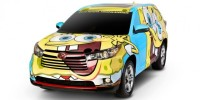 Toyota and Nickelodeon Joined Forces to Create a Unique 2014 Toyota Kluger
