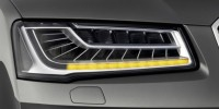 The Audi Matrix LED Headlights