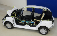 Peugeot Citron Has Announced a New Hybrid Vehicle Concept