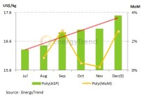 Cell Manufacturers May Revise The Price Upward to Correspond to The Increased Poly