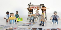 London's Playpress Hits Kickstarter with Eco-Friendly Press-out Play-Sets