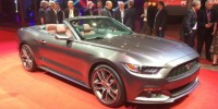 Ford Mustang Convertible Was Released in Sydney Last Night
