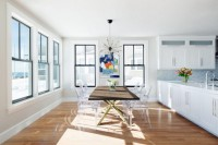 Mid-Century Modern Couture Dining Table With A Twist