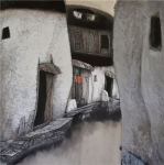 Chinese Painter Comes From Auckland to Exhibit at Home