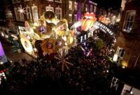 The Rolling Stones Kicked off This Year's Holiday Festivities on London's Carnaby Street