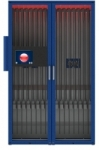 RFID Iriscope Cabinet Patent Is Mobile and Receiving