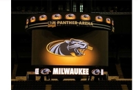 Wisconsin Partnered to Install a New Centerhung LED Display