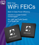 Its AWL9281 and AWL9581 WiFi Front-End Integrated Circuits (FEICs) Have Been Selected