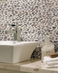 Florida Tile's New Pebbles Line Was Inspired by The Feel of Soft Pebbles in a Pond
