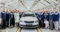 Skoda Started The Production of The New Octavia Vehicle at The GAZ's Nizhny Novgorod Plant