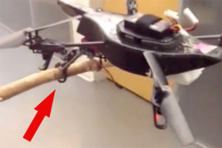 Modified AR Drone Takes Inspiration From Falcons with Some Custom Legs, Claws, and Feet