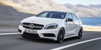 The Mercedes-Benz A45 AMG: The Ground-Breaking Hot-Hatch's World Premiere