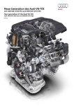 Audi Presents New V6 TDI Engine in Austria
