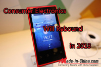 Consumer Electronics Market Will Rebound in 2013
