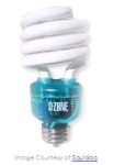 O'Zonelite Is Energy Efficient Light Bulb Which Cleans Indoor Air