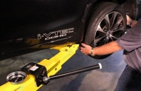 Rotary Lift Says a Protective Coating and End Cap Prevent Wheels From Being Scratched