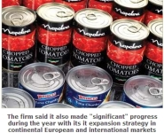 Princes Has Booked an Increase in Annual Profits Thanks to Its Acquisition of Canned Food