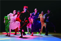 Dancers Find Exhilaration in Feeling 'blue'