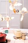 The Clusterlamp Pendant Light's Innovative Use of The Common Light Bulb Socket