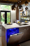 Thermador's Glowing Blue LED Light Dishwasher Shows They Could Be Fun & Functional