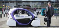 Self-Driving Car Tested for First Time in UK