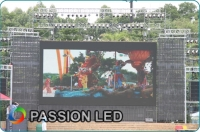 PASSION P20mm Flexible LED Curtain Screen Was Applied in Guangzhou Chimelong Water Park