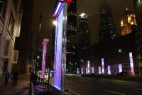 Lights, The Last Piece of Reconstruction Project of Congress Parkway in Chicago