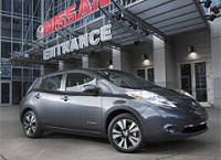 Today, Nissan Started Building Its Leaf Electric Cars in The United States