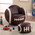 You Will Be Surprised at How Available Football Themed Furniture Is