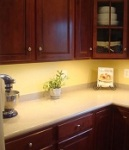 It Provides Task Lighting for Your Countertops to Make Them Ideal for Food Preparation
